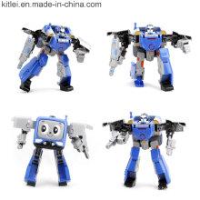Figura por encargo del robot de la fábrica Juguetes plásticos del robot del PVC