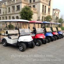 Сертификация CE самый новый на данный момент компания ezgo 4 seatser электрический гольф тележки, используемой гольф-клуб
