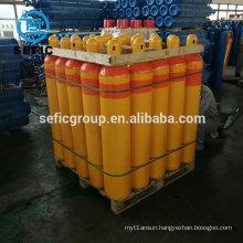 oxygen/argon/nitrogen gas cylinder reasonable price weight of