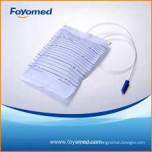 Best-sale and Great Quality 2000ml Urinary Drainage Bag with CE,ISO Certification