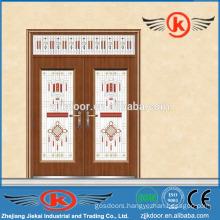 JK-C9049 stylish painting decorative antique bronze copper coated door