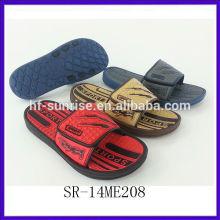 SR-14ME208 new men eva bathroom slippers fashion china cheap wholesale slippers men beach flat eva wholesale slippers