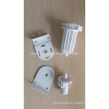 Mecanismos de persianas enrollables con cadena de bolas de plástico y soportes de plástico