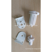 Roller blinds mechanisms clutch with plastic ball chain and plastic brackets