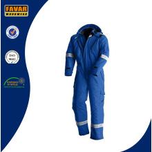 Resistente a la llama de algodón de seguridad reflectante de seguridad de camuflaje campo de petróleo proteger cubierta de invierno para la industria del gas de petróleo