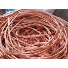 Chatarra de cobre, chatarra de alambre de cobre Millberry para la venta