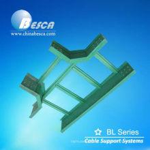Tipo da escada da bandeja de cabo da fibra de vidro (UL, cUL, NEMA, CE, IEC, ISO)
