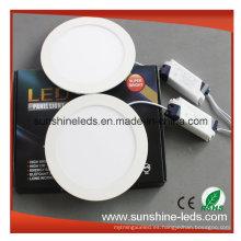 3W / 6W / 9W / 12W / 15W 3 años de garantía Dimmable LED Panel Light