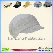 Fashion Plain Girls Hat/Cap/ 100% Cotton Hat winter hat fashion warm hat cap cotton hat , LSC55
