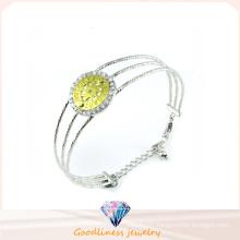 Factory Wholesale Woman′s 925 Silver Bangle (G41270)