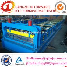 Rolo de telha de aço colorido QJ-935 dá forma à máquina para boas vendas