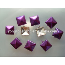Custom superior quality latest color purple metal claw beads
