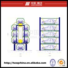Multi-Deck, sistema de apilamiento cíclico y equipo de estacionamiento automotriz al aire libre