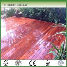 Revestimiento de jardín de merbau sólido rojo resistente a las grietas