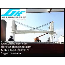 CCS BV bulk handling Marine barge crane 40T