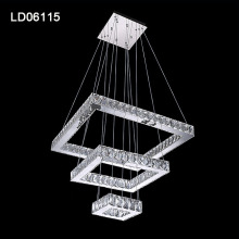 led decorative crystal chandelier hanging pendant light