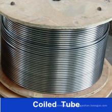 304 304L Tubo En Espiral Soldado Del Acero Inoxydable