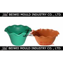 OEM Custom Injection Plastic Garden Pot Mould
