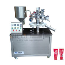 Semi Automatic Toothpaste filling Sealing Equipment Cosmetic Cream Filling Machine for Plastic Tube for cosmetic factory