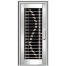 puertas de acero inoxidable exterior