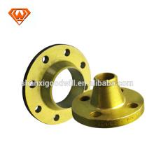brida de cuello de soldadura de cara de acero al carbono A105