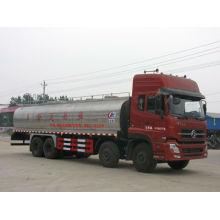 Dongfeng Tianlong 8x4 camión de leche, 26000L camión de transporte de leche