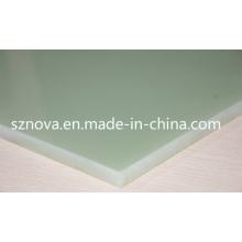 Epoxy hojas laminadas de vidrio Fr4 / Hgw2372 / G10 / Epgc201