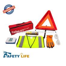 kit extincteur de voiture / kit de voiture d'urgence rose / kit d'outils d'urgence de voiture
