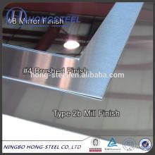ASTM AISI JIS 409 Edelstahlpreis 409 Edelstahlpreis mit stabiler Qualität