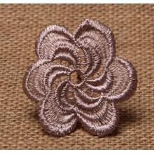 Buena calidad y el logotipo del cliente bien cosen tejido parche