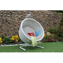 Modish diseño con clase Hambre de rattan sintético de la rota - Silla del oscilación para el jardín al aire libre Paito Wicker Furniture