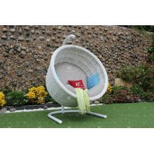 Modish Classy Design Synthétique Poly Rattan Hamac - Chaise pivotante pour jardin extérieur Paito Wicker Furniture