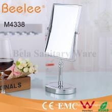 Miroir cosmétique rectangle double miroir de loupe de maquillage de salle de bains