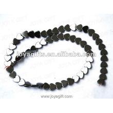 """8MM Loose coração magnético Hematite Beads 16 """""""