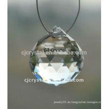 Moderner Kristallkugel-Kronleuchter, Kristallkugel