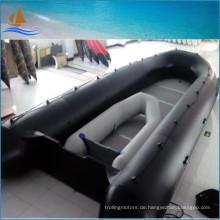8m langes Boot Schwarz militärischen Schlauchboot 0,9 mm Schlauchboote für Rettung