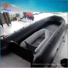 8m largo barco barco inflable militar negro 0,9 mm barcos inflables para rescate