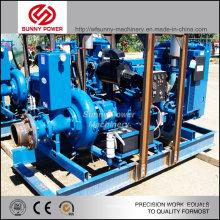 Pompe à eau diesel de 14 pouces pour 300 acres de rizières Irrigation