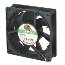 Ventilateur axial de la turbine DC12738 en aluminium de logement de 127X127X38mm
