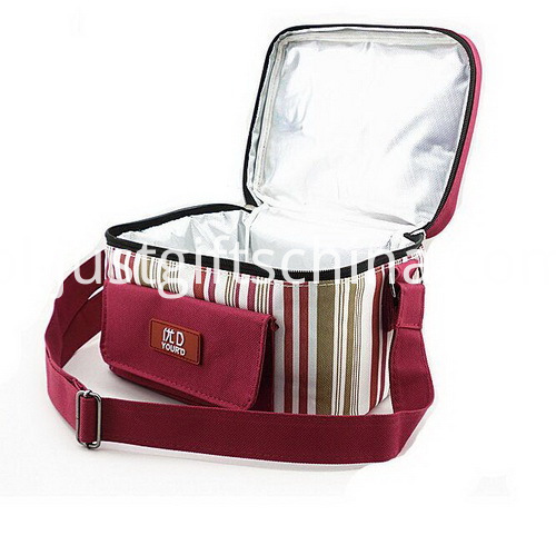 Personalized Quality 600D Polyester Striped Cooler Bags (5)