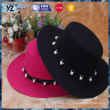 New and hot top quality winter woolen women hat for sale