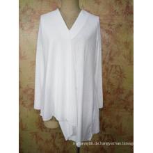Benutzerdefinierte Mode Design Damen und Mädchen Jersey Asym Top