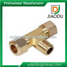 factory price made in china high quality good sale brass four way tee pipe fitting for pipes