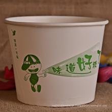 Balde de papel descartável para alimentos