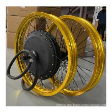 QS 273 Hub Motor 8Kw Ebike Electric Bike Kit 8000 Watt Hub Motor Electric Bicycle Conversion Kit With Colorful Wheel