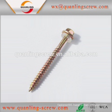 China goods wholesale hex washer head sheet metal roofing screws