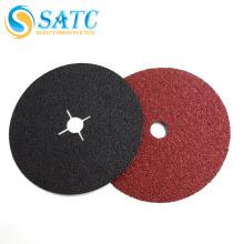 Disco de fibra de A / O consolidado SATC-resina / disco de fibra a prueba de agua con orificio transversal