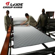 Decoration PVC film laminating machine for plaster board