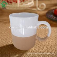 Regalo de la porcelana del descuento popular de la comida del contacto seguro el mejor regalo de la taza de café