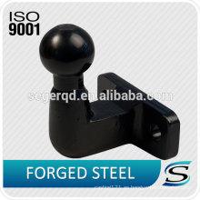 Bola de remolque de 50 mm con superficie cromada